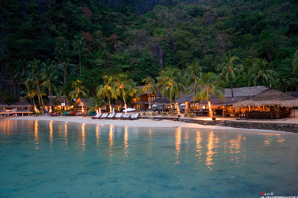 El Nido Resort Consists Of 45 Small Islands And Islets Palawan Philippines